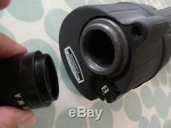 BUSHNELL SPACEMASTER RUBBER ARMOURED 60mm SPOTTING SCOPE, 22xW EYEPIECE & TRIPOD