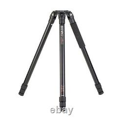 Benro A373T 3-Section Single Tube Aluminum Video Tripod with 75mm Bowl