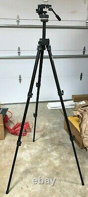 Bogen (Manfrotto) 3221 Tripod + 128RC Head (Made In Italy)