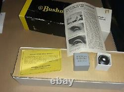Bushnell 60mm spacemaster II spotting scope with tripod in original boxes 1971