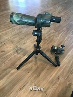 Bushnell Spacemaster 15-45x60mm Hunting Spotting Scope, Camouflage and Tripod