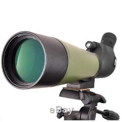 Gosky 20-60x80 Spotting Scope with Tripod, Carrying Bag and Phone Adapter