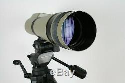 Kowa TSN-1 Spotting Scope with40X eyepiece, Bushnell 78-3300 Tripod, Scope cover