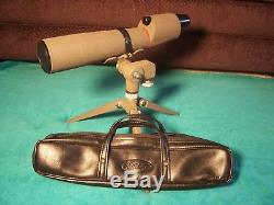 Kowa TS-2 Spotting Scope 60mm 15X Eyepiece with Factory Tripod Excellent Condition