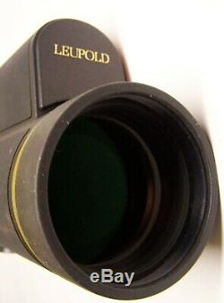 LEUPOLD Golden Ring Spotting Scope withManfrotto Tripod in Padded Case EXCELLENT