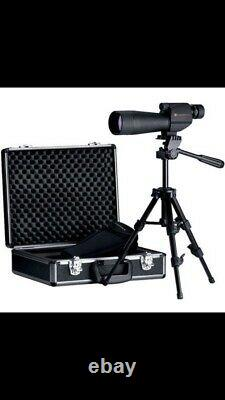 LEUPOLD Sequoia 15-45x60mm Wind River Spotting Scope With Tripod & Hard Case