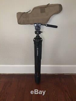 Leupold 120376 GR 20-60x80mm Gold Ring Spotting Scope with cover and tripod