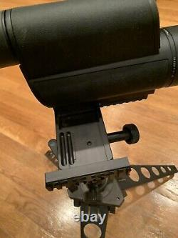 Leupold Mark 4 Spotting Scope 40 X 60 New With Military Tripod With New Case