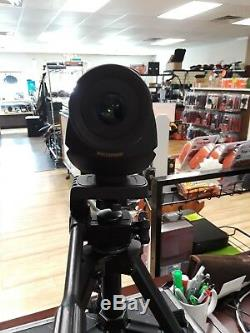 Leupold Sequoia Green Ring Spotting Scope 15-45×60 With Tripod And Hard Case