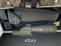 Leupold Sequoia Spotting Scope 15-45X 60 and Winchester tripod withcase