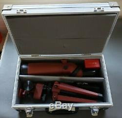 Lightly Used Redfield Regal II Spotting Scope in Hard Case with Tripod and Parts