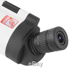 MAK 25-75X70 Spotting Scope For Shooting Waterproof With Tripod & Phone Adapter
