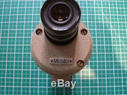 MIRADOR 60mm METAL BODIED SPOTTING SCOPE, 2 EYEPIECES & 2 TRIPODS FINE PACKAGE