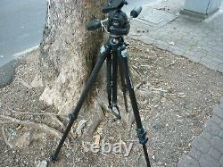 Manfrotto 055mf3 Magfiber Tripod With Manfrotto 808rc4 Head Au Stock