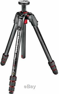 Manfrotto 190 Go! M-Series Carbon Fiber 4-Section Tripod