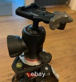 Manfrotto 190 MT190XPro4 4 Section Tripod with Manfrotto 494 Center Ball Head