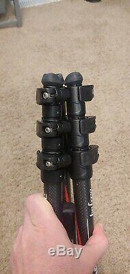 Manfrotto Befree MKBFRTC4BHUS Carbon Fiber Travel Tripod Excellent condition