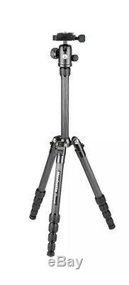 Manfrotto Element Small Carbon Tripod Traveller Kit MKELES5CF-BH New