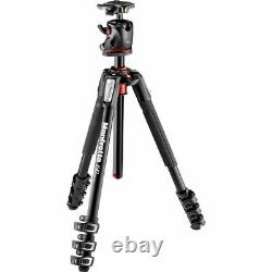 Manfrotto MK190XPRO4-BHQ2 Aluminum Tripod with XPRO Ball Head. EU Seller! NEW