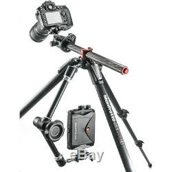 Manfrotto MT055CXPRO3 Carbon Fiber 3-Section Tripod withHorizontal Column