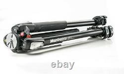 Manfrotto MT055XPRO3 Aluminum Tripod with horizontal column Legs Only