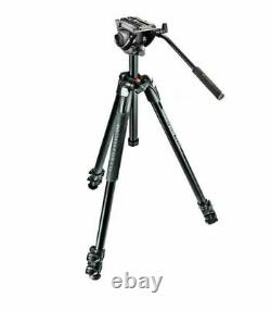 Manfrotto MT290XTA3 with MVH500AH video bundle