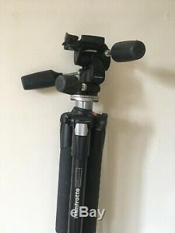 Manfrotto Tripod 055XB, Manfrotto Head 804RC2 and carry bag