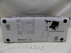 Meade 20-60x Spotting Scope Waterproof Zoom Black 15 to 44 inches 514563
