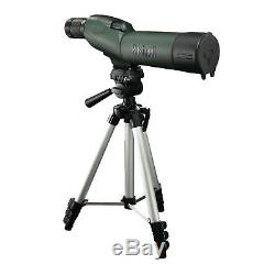 New Bushnell Trophy XLT 20-60x 65mm Shooting Spotting Scope With Tripod, Hard Case