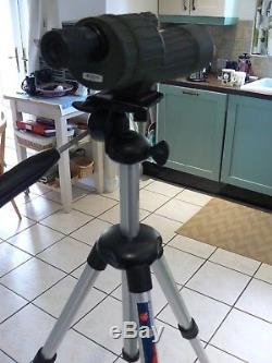 OPTICRON HR60R 60mm SPOTTING SCOPE + ZOOM EYEPIECE & MANFROTTO TRIPOD