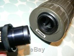 OPTICRON HR60 RUBBER ARMOURED 60mm SPOTTING SCOPE ZOOM EYEPIECE TRIPOD & CASES