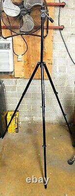 Outdoorsman Tall 61 Tripod With Jim White Pan Head & 3/8 Adapter Plate
