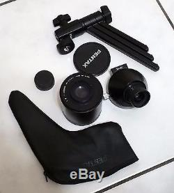 Pentax 500 mm Angled Spotting Scope / Telephoto Lens with Tripod