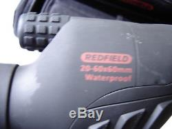 REDFIELD RAMPAGE SPOTTING SCOPE 20-60 x 60 with Soft Case and Tripod