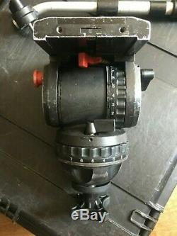 Sachtler Video 20 Fluid Tripod Head with quick release plate & pan arm