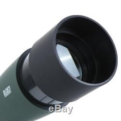 Spotting Scope 25-75X70 Telescope With Tripod&Phone Adapter For Target Shooting