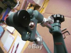 TWO LEG Vintage AL FREELAND spotting scope STAND TRIPOD MAY BE INCOMPLETE
