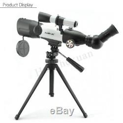 VISIONKING 350X50mm Spotting Scope Monocular Astronomical Telescope with Tripod