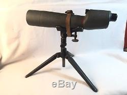 Vintage Bushnell Spacemaster Spotting Scope With M15 Sniper Tripod