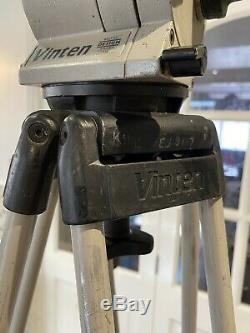 Vinten Vision 5 Fluid Head and 2-stage Camera Tripod. Good used condition