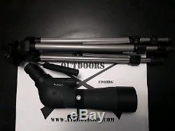 Vortex Nomad 20-60x60mm Spotting Scope With King Snug Fit Cover and Trikon Tripod