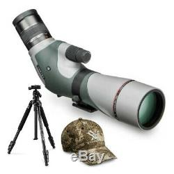 Vortex Razor HD 16-48x65 Angled Spotting Scope with High Country Tripod Kit