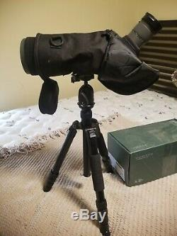 Vortex Razor HD 27-60X85 Angeled Spotting Scope RS-85A with Tripod and Phonescope
