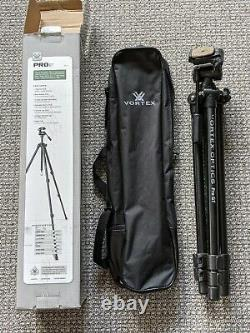Vortex tripod Pro GT with pan head Lightly Used