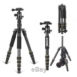 ZOMEI Carbon Fiber Q666C Tripod Heavy Duty Lightweight with 360° Ball Head