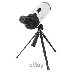 Zoom 25-75X70 Angled Spotting Scope Waterproof Astronomical Telescope With Tripod